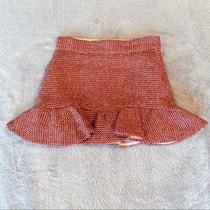 Janie and Jack Tweed Ruffled Skirt Size 3